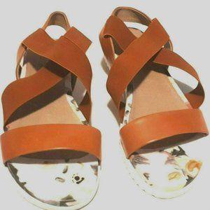 Miz Mooz Annette Sandals Slippers Elastic size 8.5